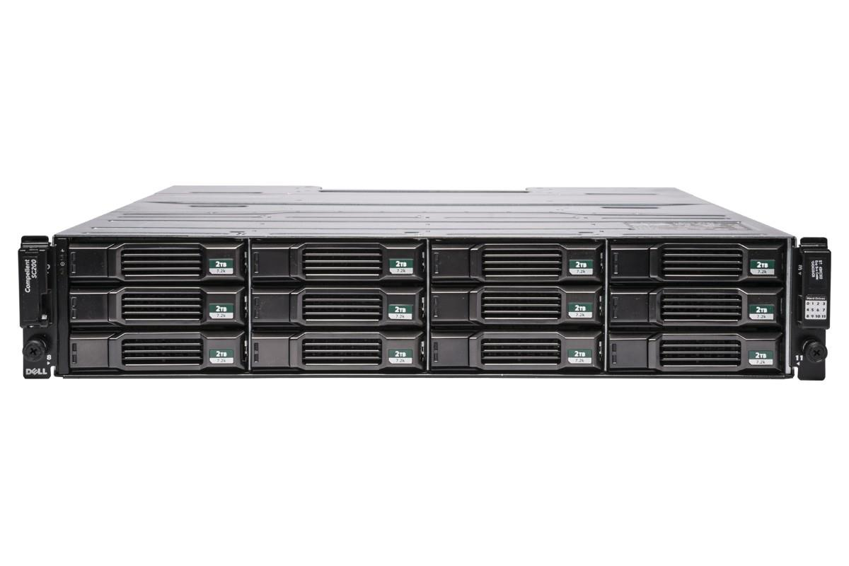 Dell PowerVault Compellent SC200 Enclosures 12 x 2TB 7.2K HDD