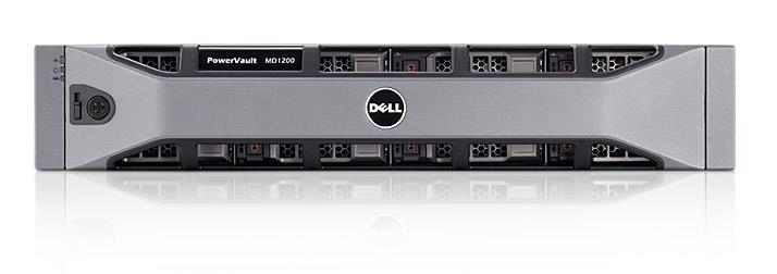 Dell PowerVault MD1200 Direct Attached Storage DAS 12 x 2TB 7.2K HDD