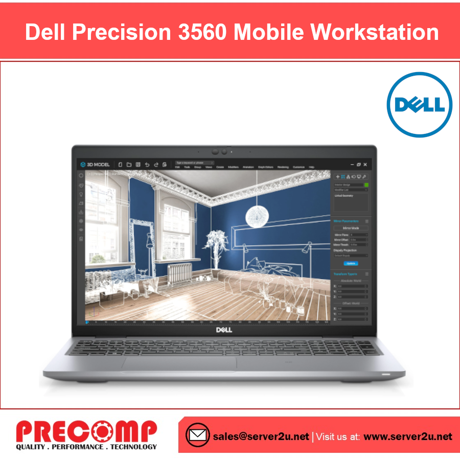 Dell Precision 3560 Mobile Workstation (i7-1165G7.16G.512GB)