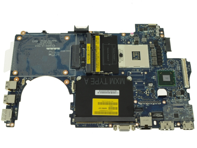 Dell Precision M4700 Laptop Motherboard (System Mainboard) for RGB Dis