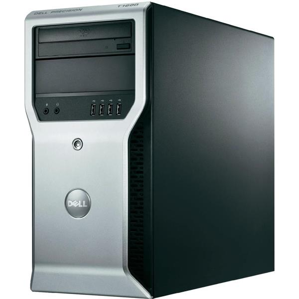 DELL Precision T1600 Xeon E3 1225 4GB 250GB Quadro 600 CPU PC Desktop