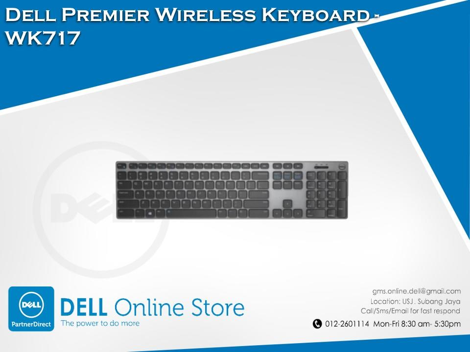 Dell Premier Wireless Keyboard - WK717