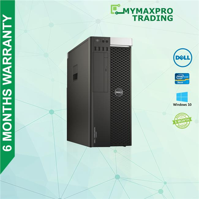 Dell T5810 Workstation Xeon E5-1603V3 32GBRAM 1TBHDD Quadro 2000 W10P