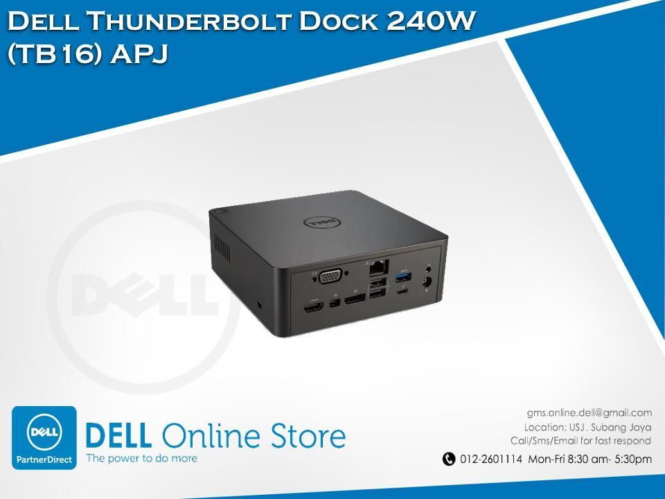 Kết quả hình ảnh cho dell tb16 thunderbolt dock 240w