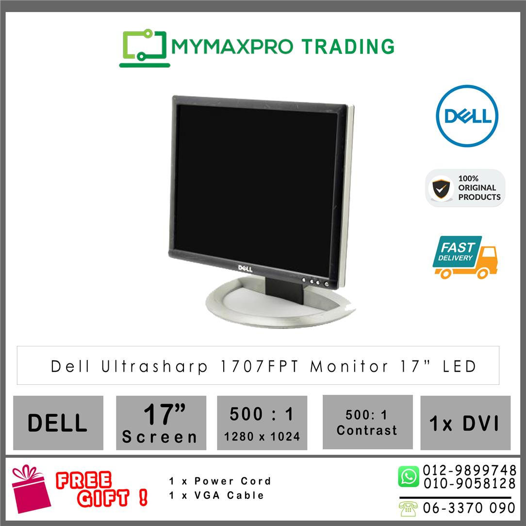 Dell Ultrasharp 1704FPT 17' LCD Monitor 17-inch 1280x1024 DVI