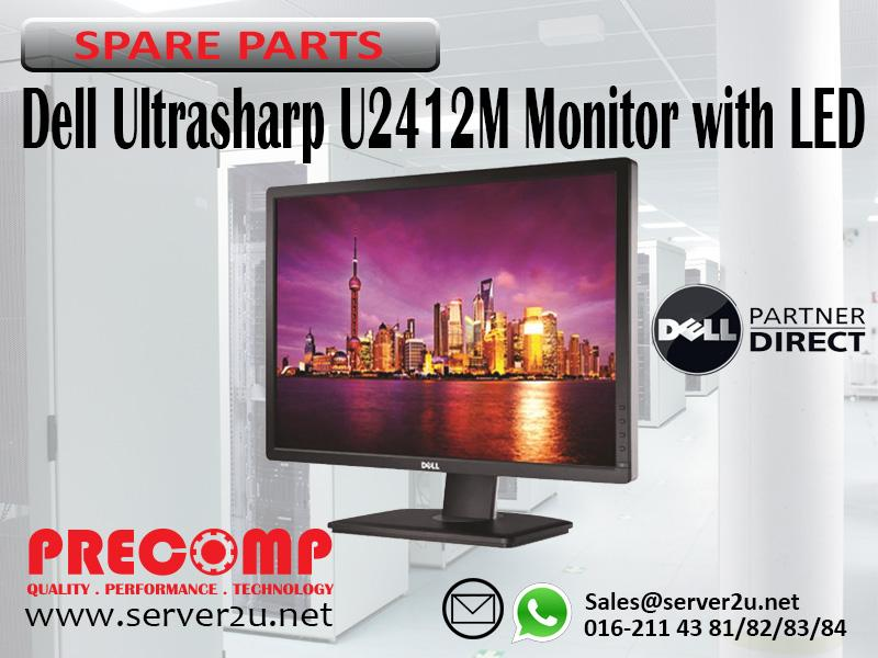 Dell Ultrasharp U2412M Monitor with LED (210-AMJP)