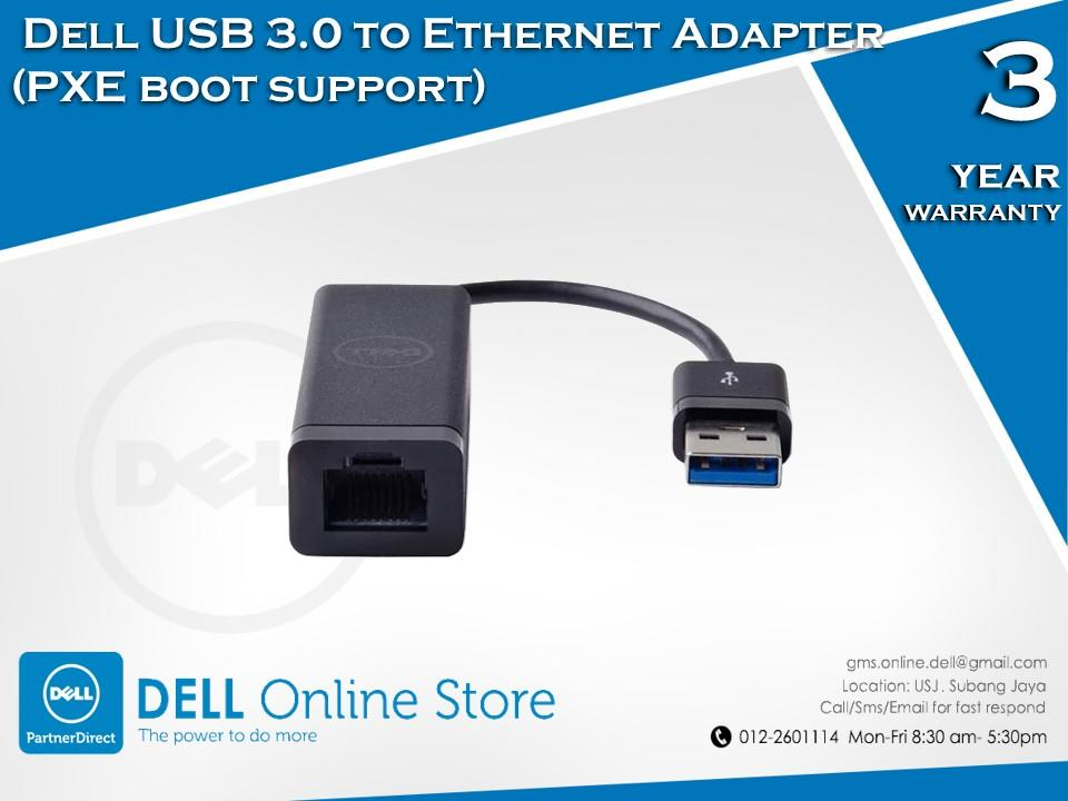 Dell USB 3 0 to Ethernet Adapter (PXE boot support)