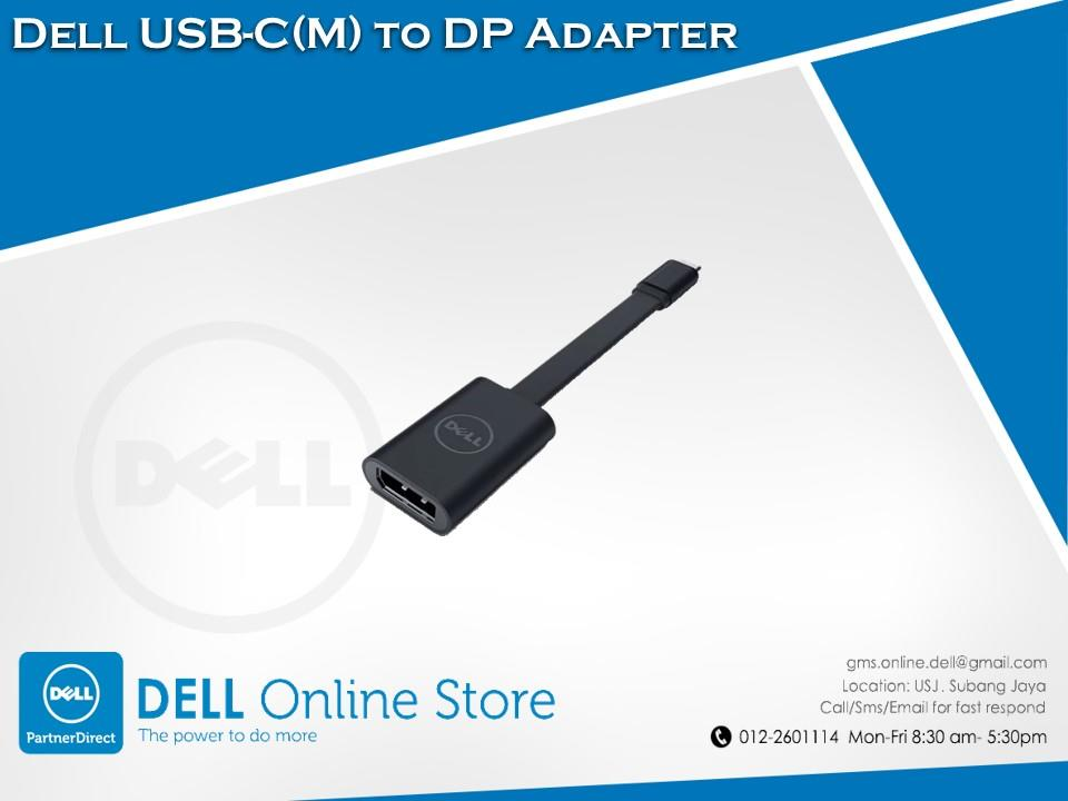 Dell USB-C(M) to DP Adapter
