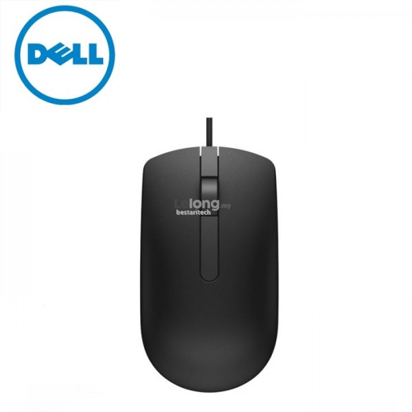 Dell USB Optical Mouse – MS116 BLACK
