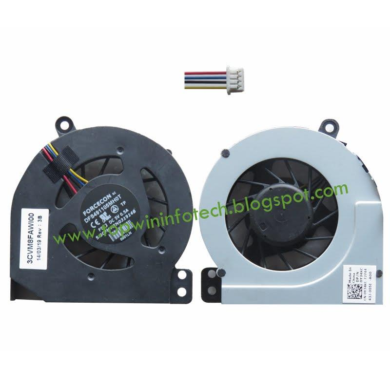 DELL VOSTRO 1014 1015 1088 PPP38L COOLING FAN