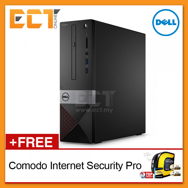 Dell Vostro 3268 SFF Desktop (Intel G4560 3.5Ghz,1TB,4GB,HD 610,Wifi)