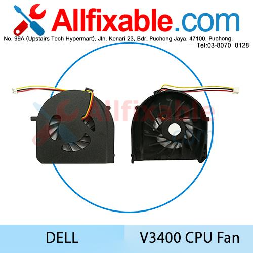 Dell Vostro 3400 3500 V3400 V3450 V3500 Laptop CPU Cooling Fan