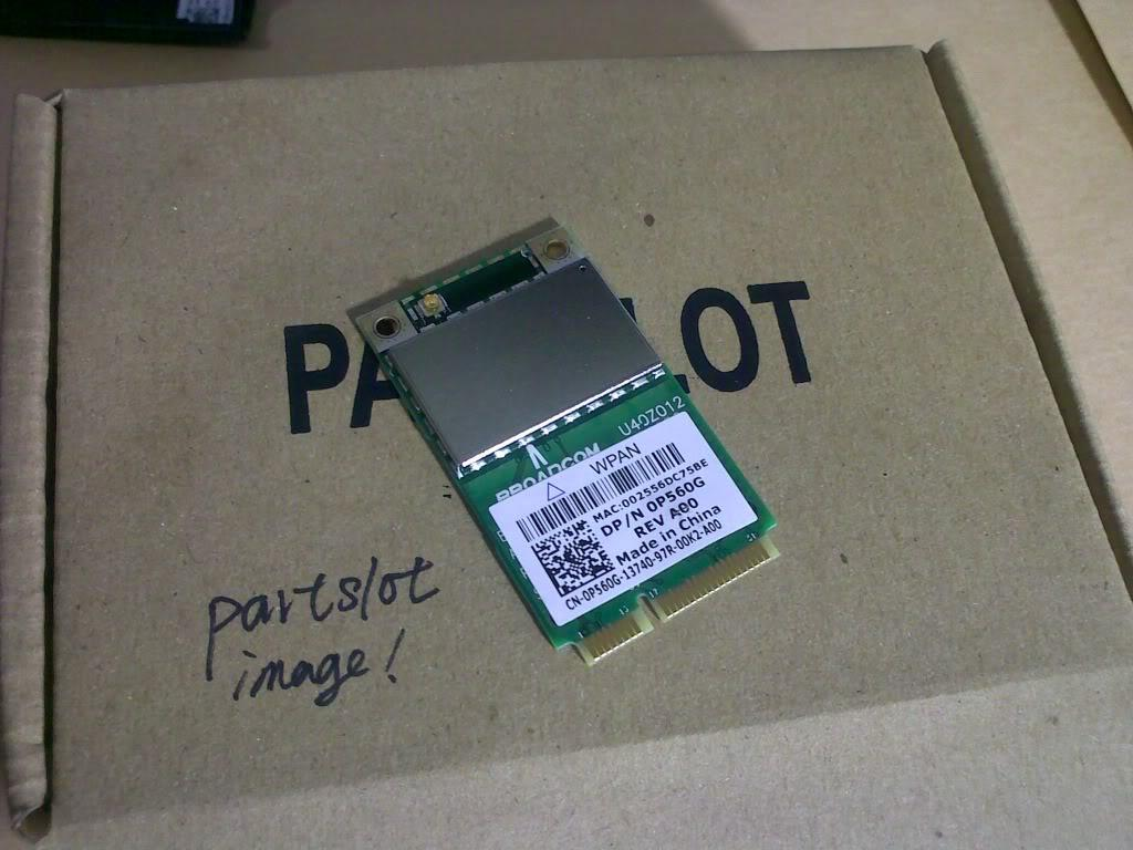 Dell Wireless Wifi Bluetooth 370 module PCIe