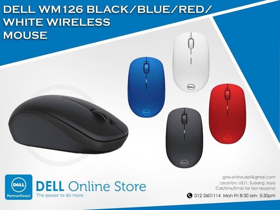 77015bff646 Dell WM126 Black/Blue/Red/White Wire (end 2/23/2017 9:15 AM)