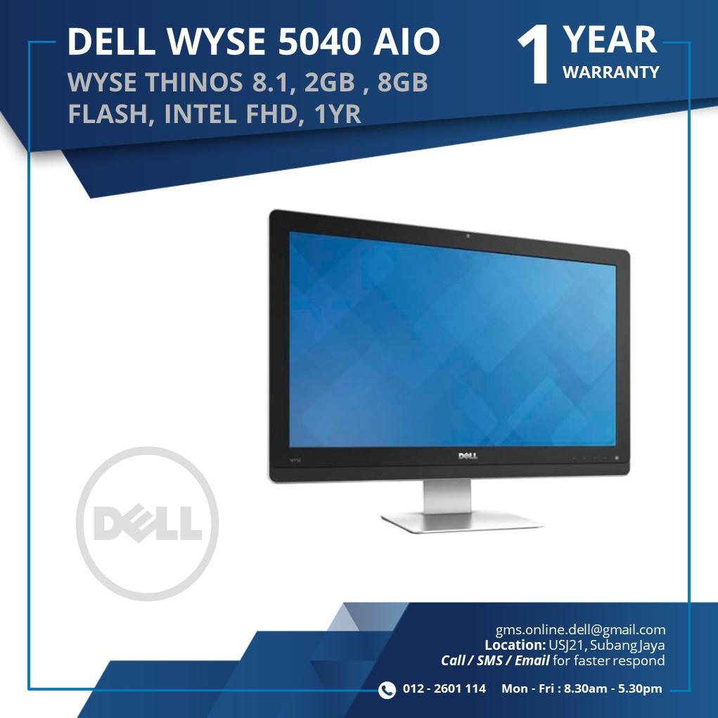 DELL WYSE 5040AIO G-Series (2GB, 8GB FLASH, INTEL HD,1YR)