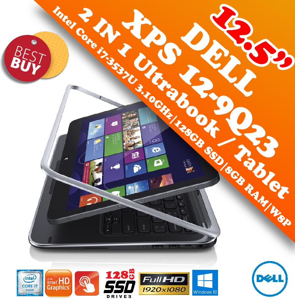 Dell XPS 12-9Q23 2 IN 1 Core i7 Touch Screen Ultrabook Special Offer!!