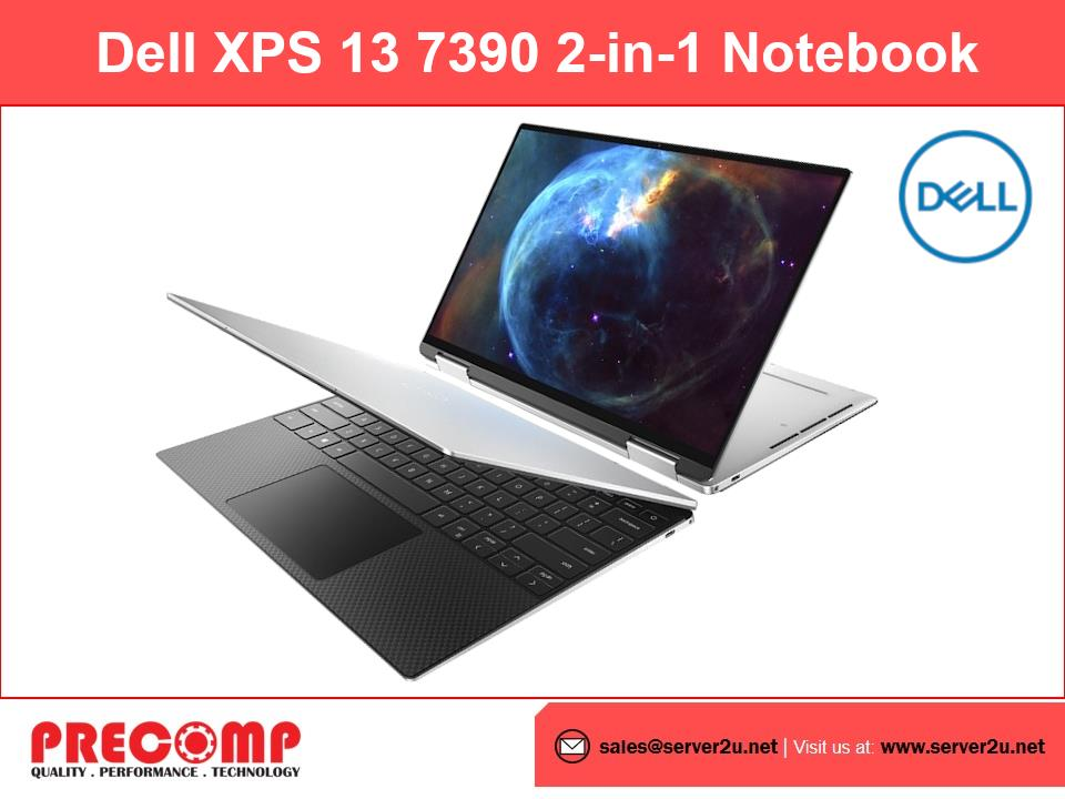 Dell XPS 13 7390 2-in-1 Notebook (i7-1065G7.16GB.512GB)
