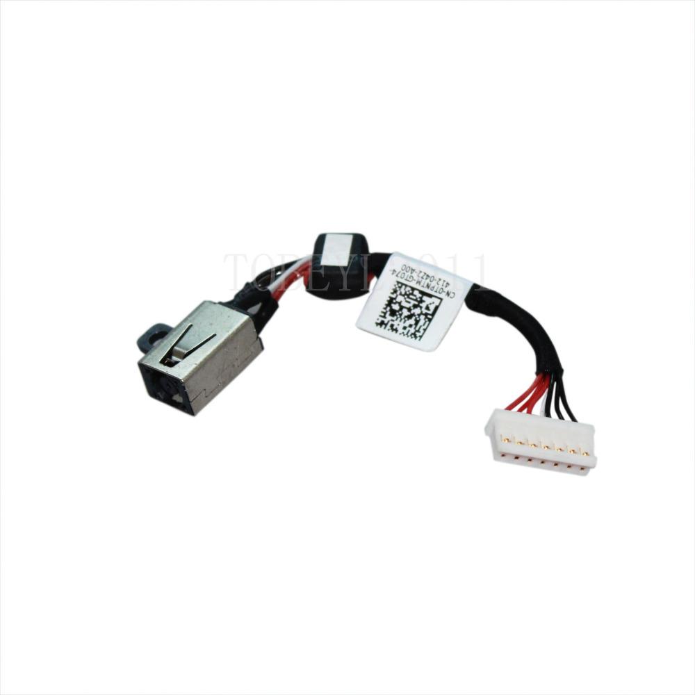 Dell XPS 15 5510 9530 9550 TPNTM Power DC Jack connector cable