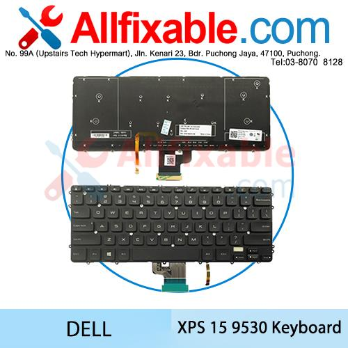 Dell XPS 15 9530 15-9530 Precision M3800 Laptop Keyboard Puchong