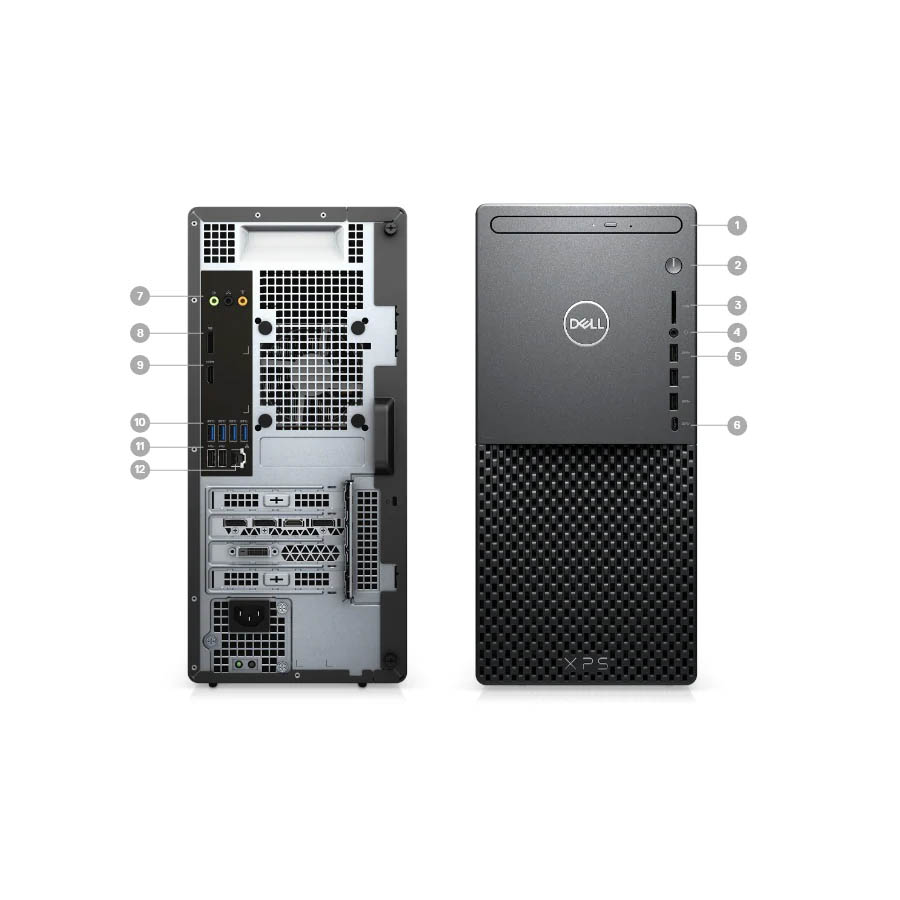 Dell XPS 8940 Desktop Gaming PC (i7-10700 4.80Ghz,1TB+512GB SSD,16GB,Nvidia GT