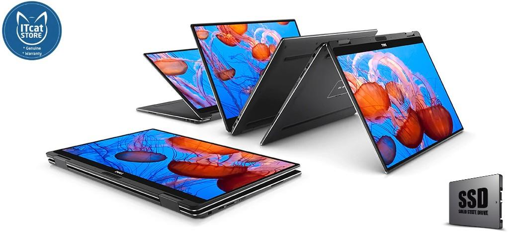 NEW DELL XPS 9365 13.3'-i7-7Y75/8GB/512GB (XPS13C-Y785SG-W10-QHD-SSD)