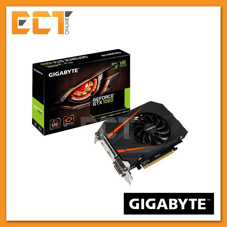 3ea70170f (Demo Set) Gigabyte GeForce GTX 1060 Mini ITX OC 6GB Graphic Card. ‹ ›