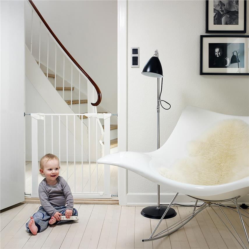 Made in Denmark Promotion(Euro Safety) Baby Dan Premier baby gate - wh