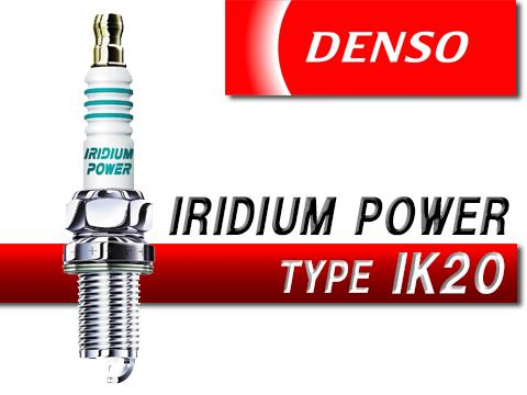DENSO IK20 IRIDIUM SPARK PLUG FOR CAMRY, ACCORD (4PCS)