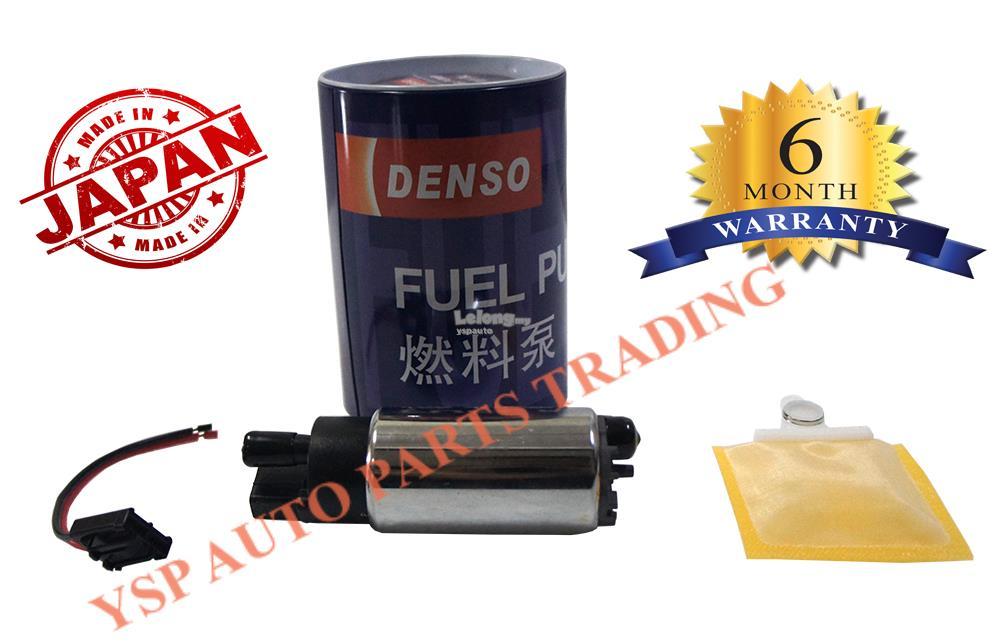 Denso Intank Fuel Petrol Pump Proton Wira Satria Arena Putra Perdana