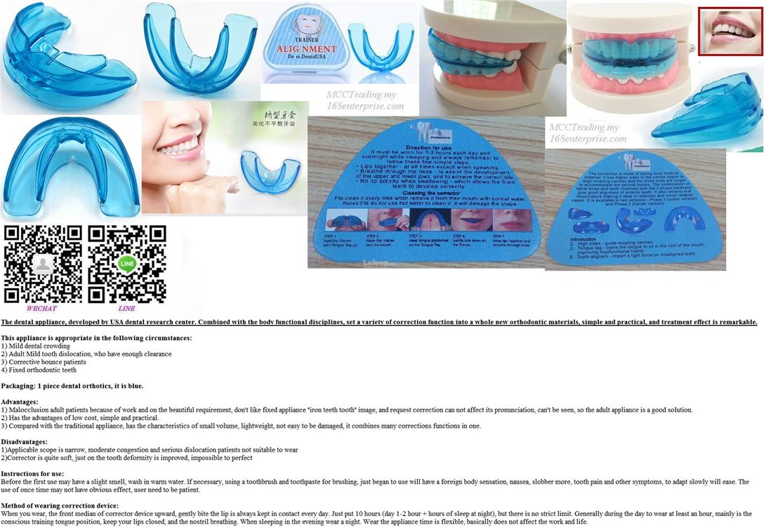 Best Dental Quality Oral Teeth Orthodontic Trainer Alignment in Market