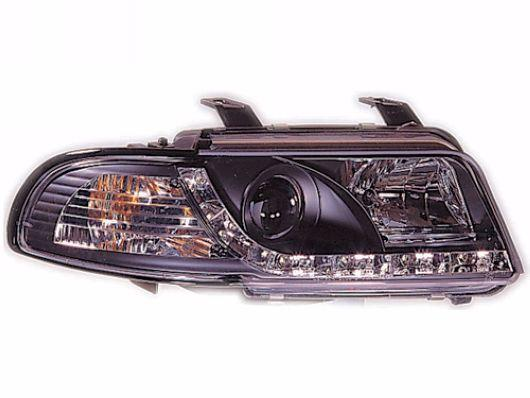 DEOP Audi A4 B5 '96-00 Head Lamp Projector W/LED R8 [AD01-HL02-U]