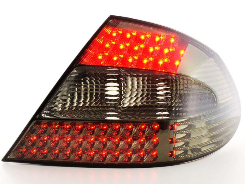 DEPO Benz CLK W209 `03 Tail Lamp Double LED Smoked