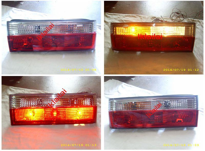 DEPO BMW 3 Series E30 `83 Tail Lamp Crystal Clear/Red [BM00-RL02-U]