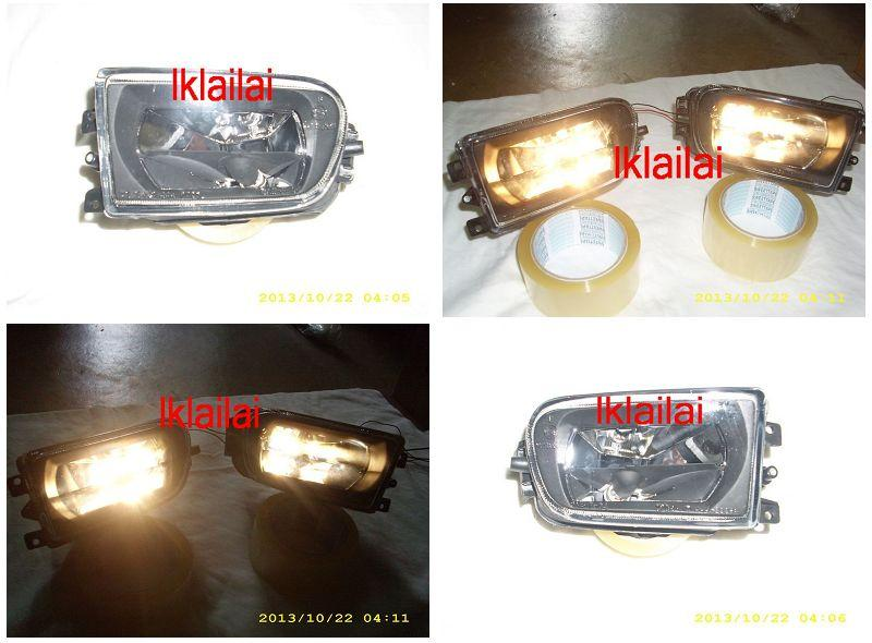 DEPO BMW 5 Series E39 `95-`02 Fog Lamp Crystal Black [BM12-FL01-U]