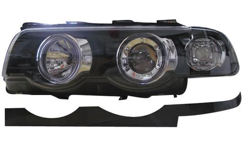 DEPO BMW E38 `95-02 Head Lamp Crystal Projector W/ Rim [BM31-HL01-U]
