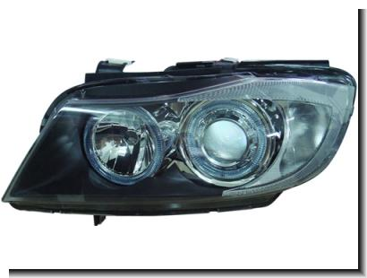 DEPO BMW E90 `05 Head Lamp Crystal Projector W/ Rim [BM03-HL01-U]