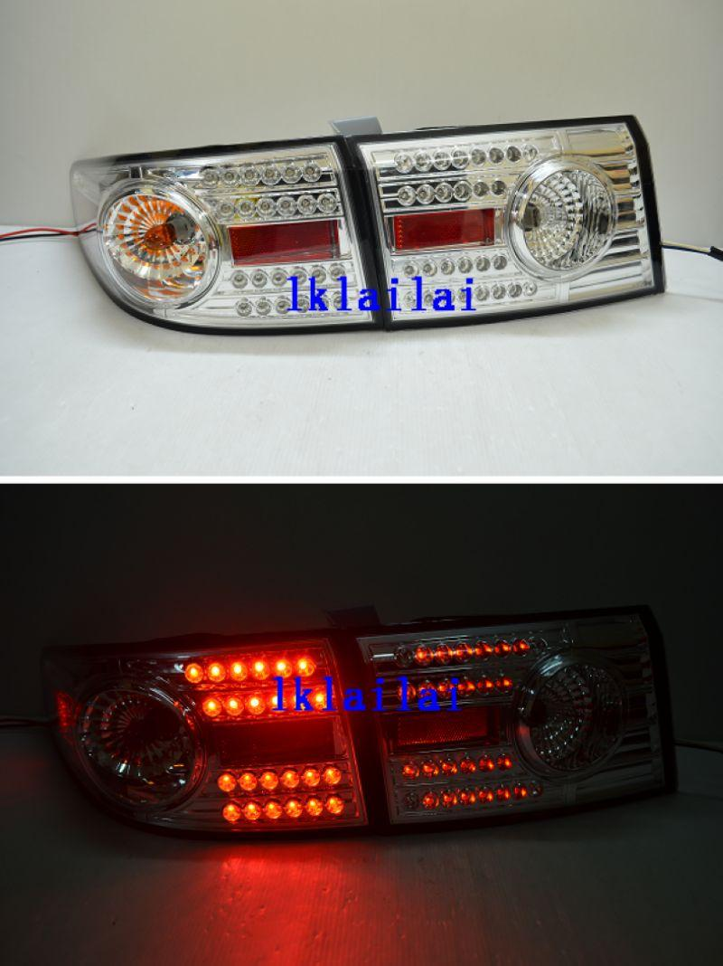 DEPO Honda Accord `03 Tail Lamp Crystal LED Chrome [HD05-RL03-U]