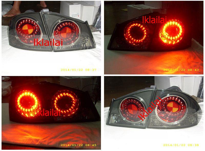DEPO Honda Civic FD '06 LED Tail Lamp Black Housing [HD14-RL04-U]