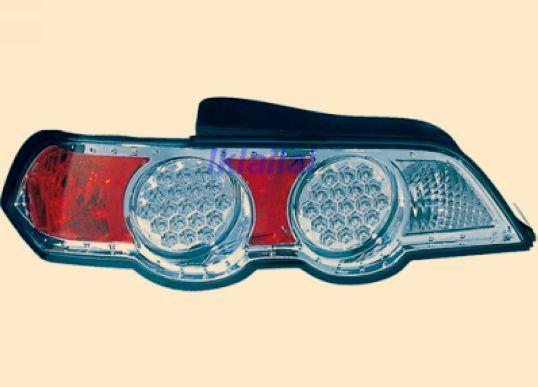 DEPO Honda Integra DC5 `02 Tail Lamp Crystal LED Chrome [HD62-RL01-U]