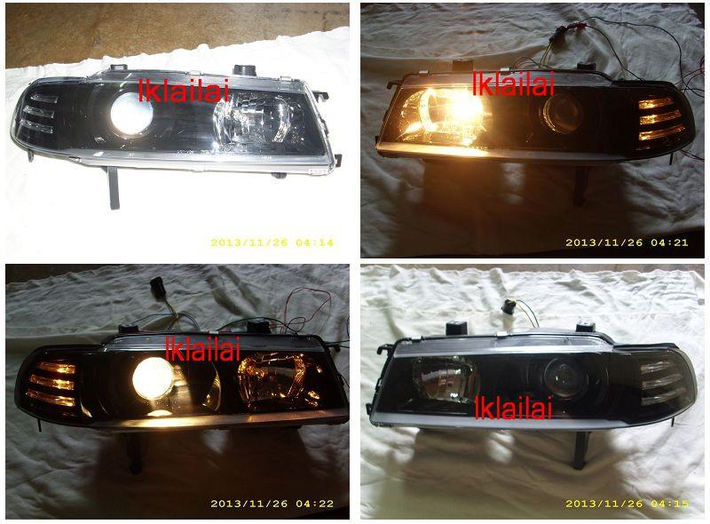 DEPO Honda Prelude '92-96 SSO Projector Head Lamp Crystal [HD71-HL01-
