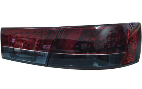 DEPO Hyundai Sonata 05 Tail Lamp Crystal LED Red/Smoke [HY11-RL01-U]