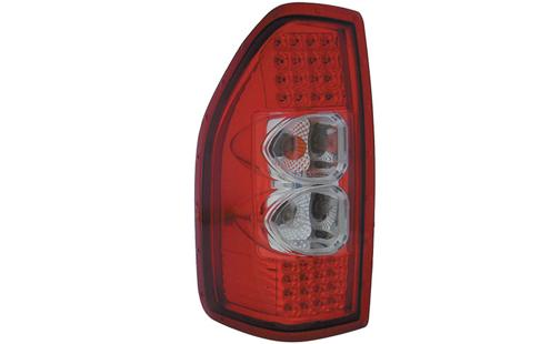 DEPO Isuzu D-Max '02 Tail Lamp Crystal LED Red / Clear