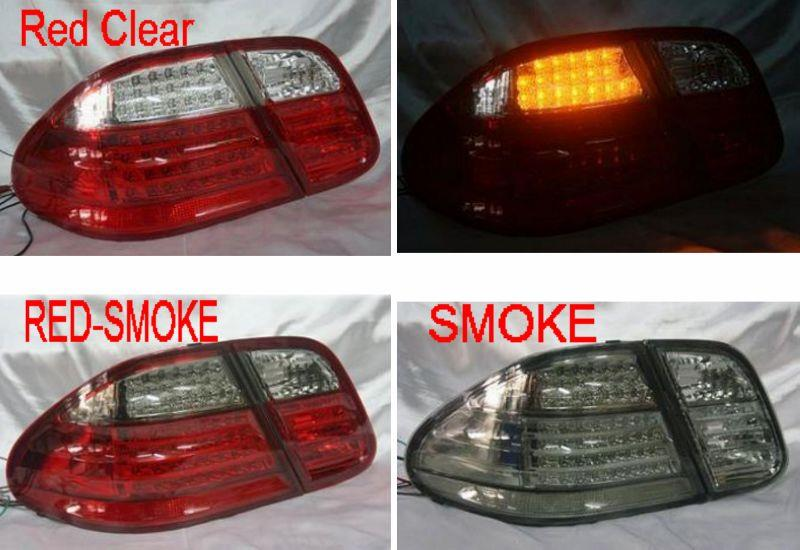 DEPO MERCEDES BENZ CLK W208 '97-02 LED Tail Lamp with LED Signal