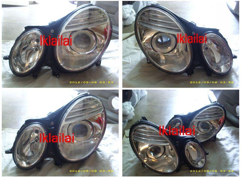 DEPO Mercedes Benz E-Class W211 '03 Head Lamp Projector W/Motor