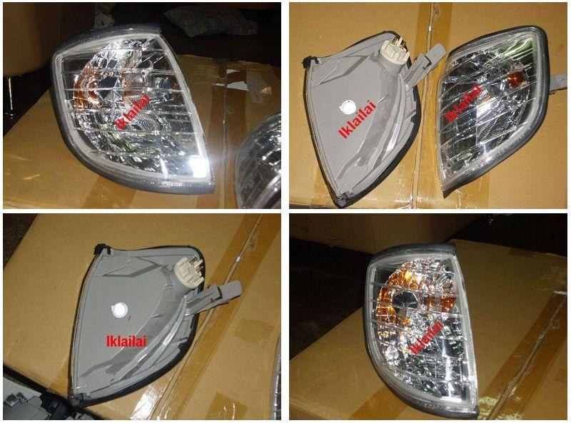 DEPO Mercedes Benz S-Class W140 `94-97 Corner Lamp Crystal (2pcs/set)W