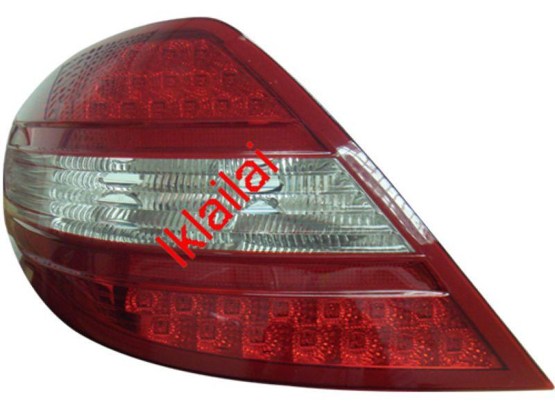 DEPO Mercedes Benz SLK R171 `03-11 Crystal LED Tail Lamp Red/Clear