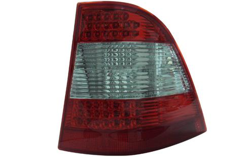 DEPO Mercedes Benz W163 `98-04 Tail Lamp Crystal LED Red/Clear