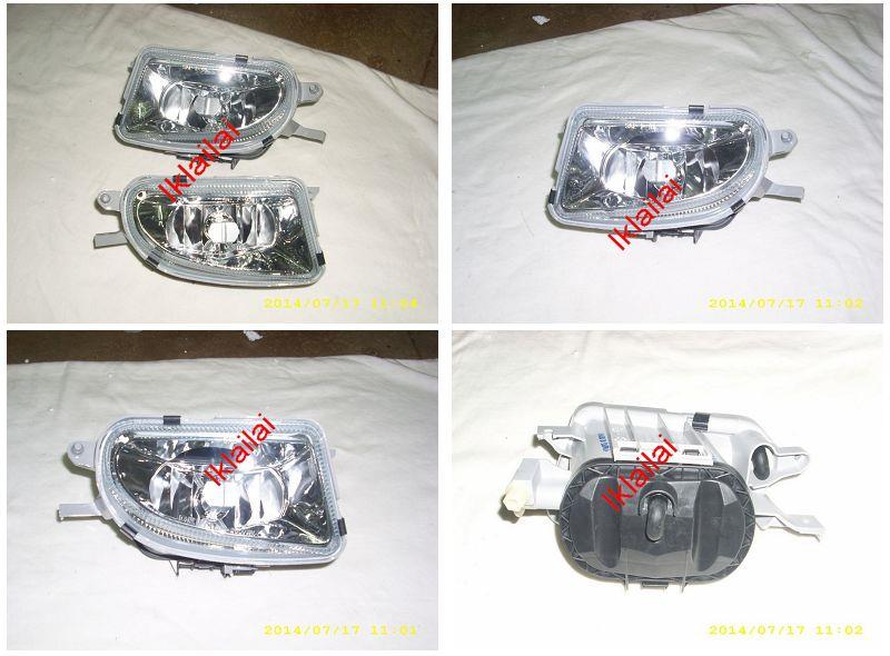 DEPO Mercedes Benz W208 `98-02 Fog Lamp Crystal Glass Lens W208-FL01-U