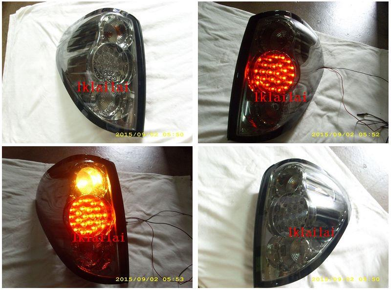 DEPO Mitsubishi L200 Triton Tail Lamp Crystal LED Smoke [MT11-RL02-U]
