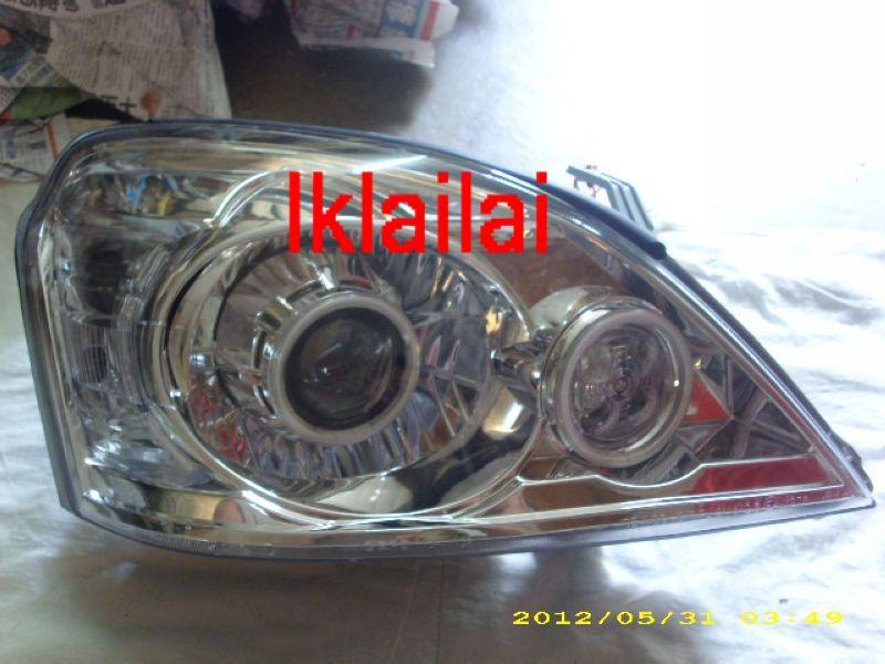DEPO NISSAN X-TRAIL '03-09 T30 Projector CCFL Head Lamp [Chrome]